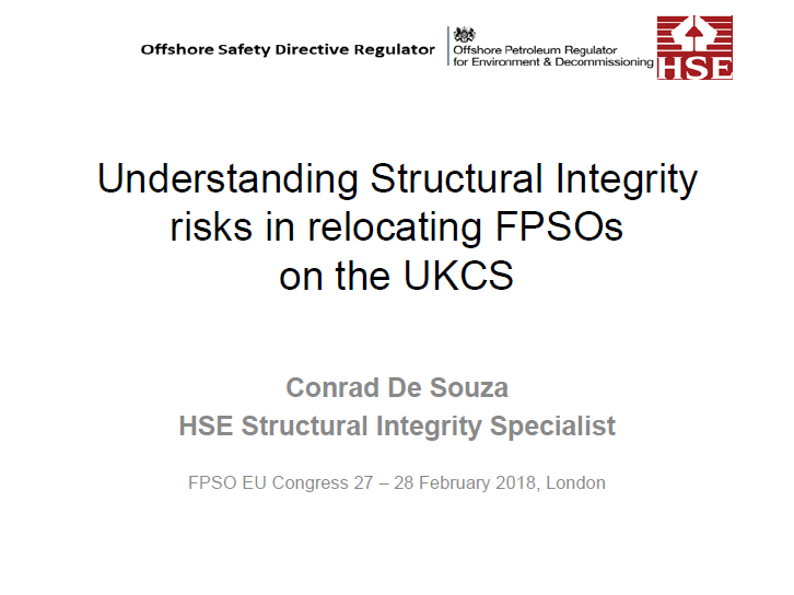 Understanding Structural Integrity Risks with FPSO Relocation on the UKCS to Achieve Optimal Value