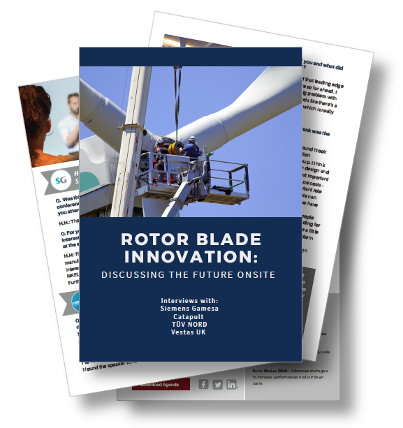 Interview on Rotor Blade Innovation: Discussing the Future Onsite