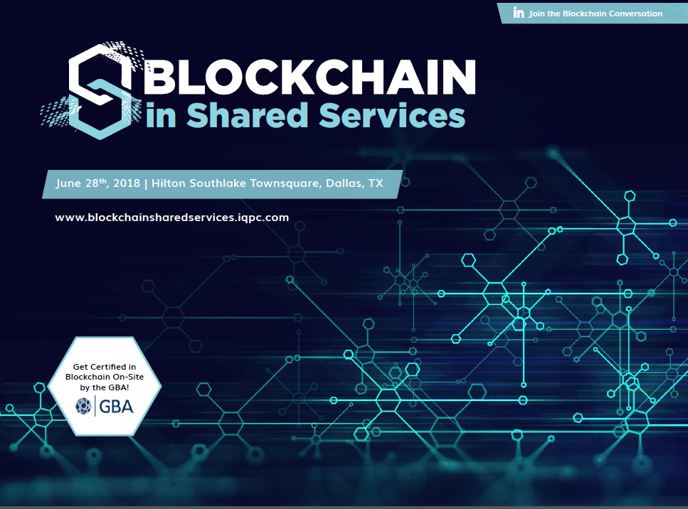 Blockchain in Shared Services Agenda