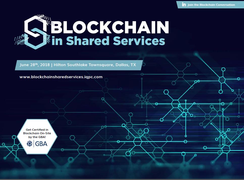 Blockchain in Shared Services Agenda