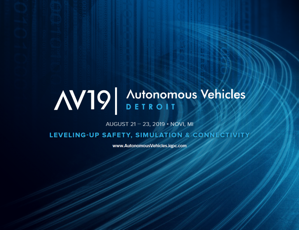 Autonomous Vehicles Detroit 2019 Program