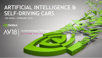 NVIDIA: Artificial Intelligence & Self-driving Cars