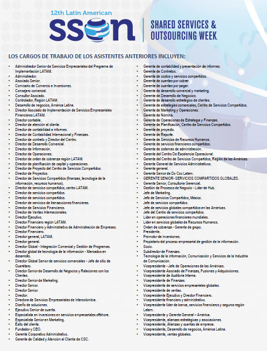 Lista de Asistentes