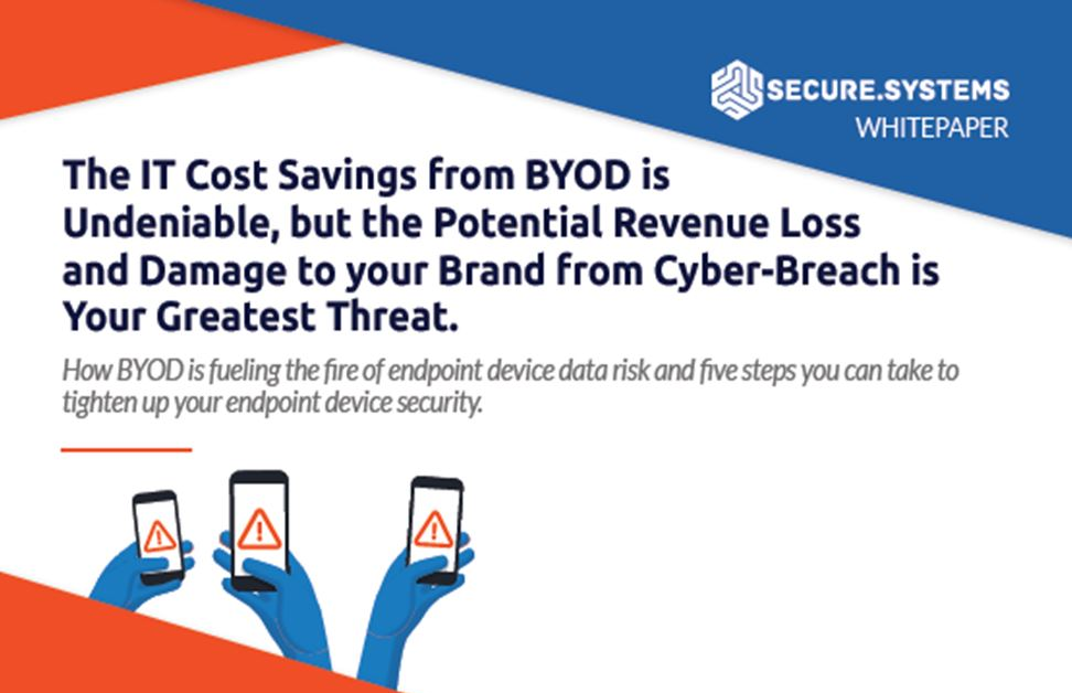 BYOD Data Risks: Five steps you can take to tighten up your endpoint device security