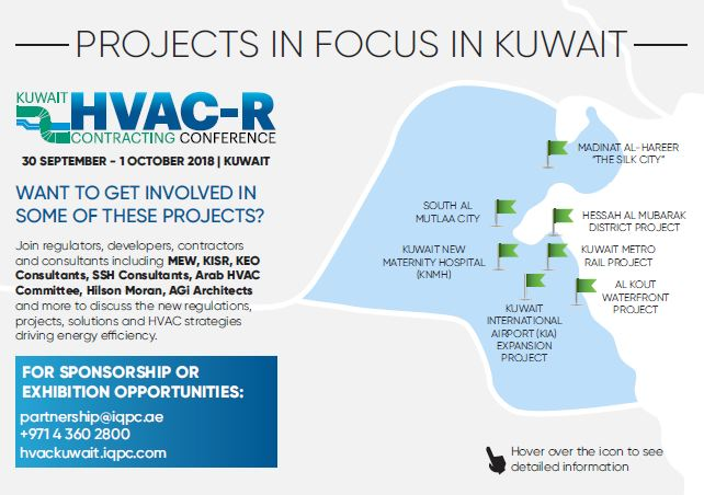 Projects in focus in Kuwait - HVAC solutions required!