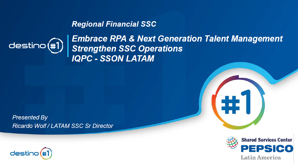 Embrace RPA & Next Generation Talent Management to Strengthen SSC Operations