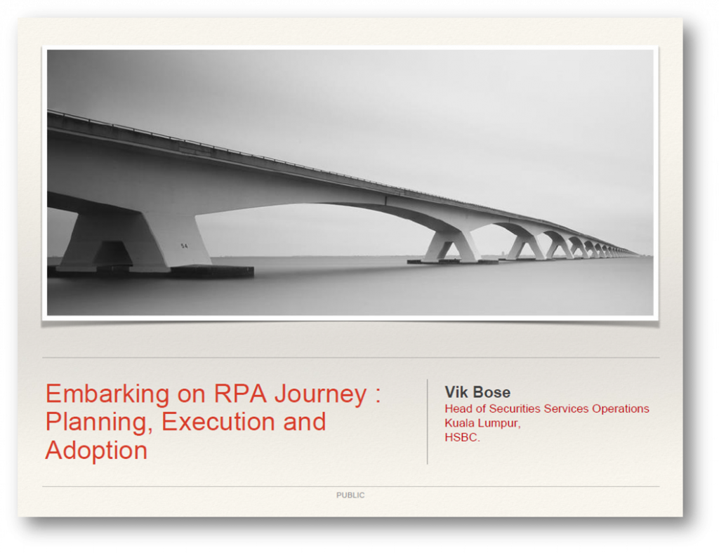 Developing a strategic RPA roadmap for your Shared Services Centre