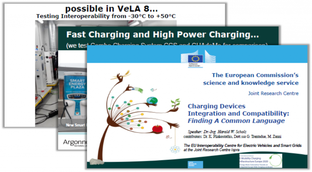 European Commission Past Presentation on Charging Devices Integration and Compatibility