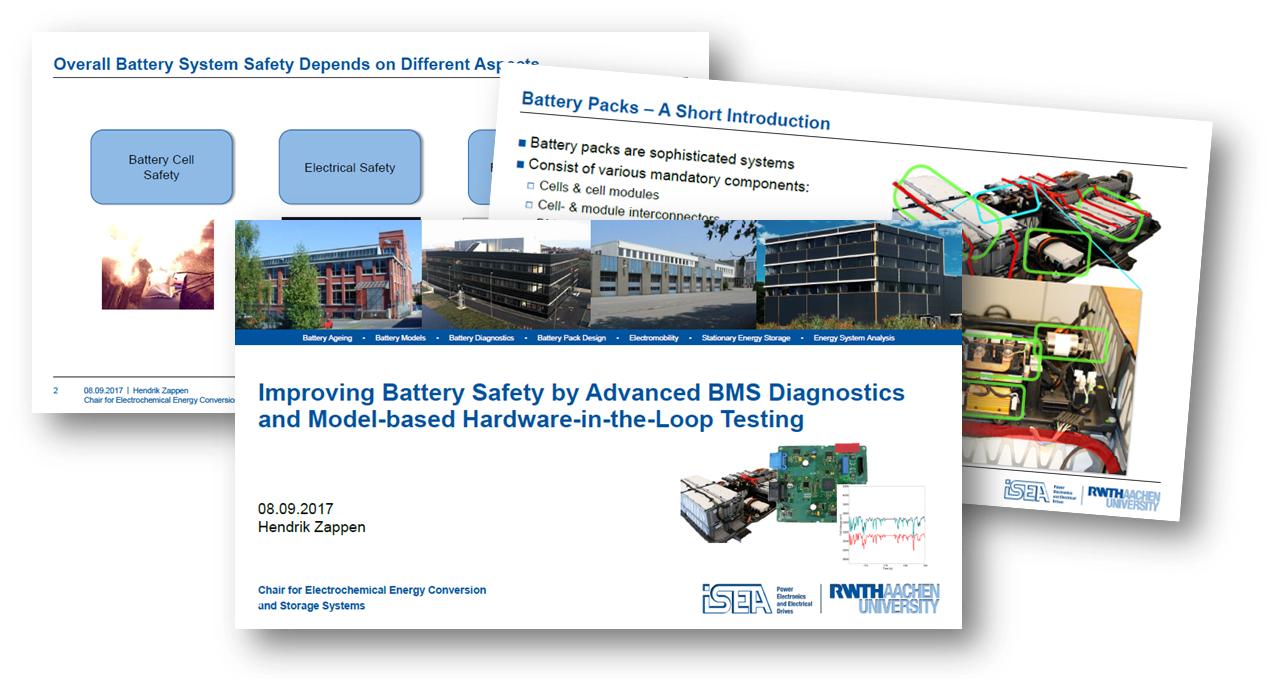 Improving Battery Safety by Advanced BMS Diagnostics and Model-based Hardware-in-the-Loop Testing