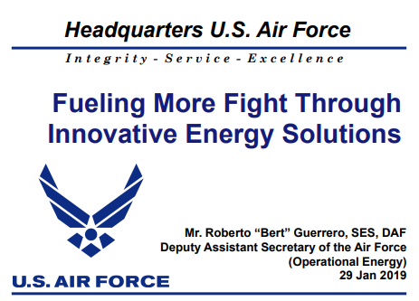 Fueling More Fight Through Innovative Energy Solutions