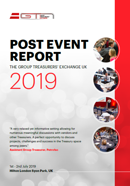 Group Treasurers' Exchange UK: 2019 Post-Event Report