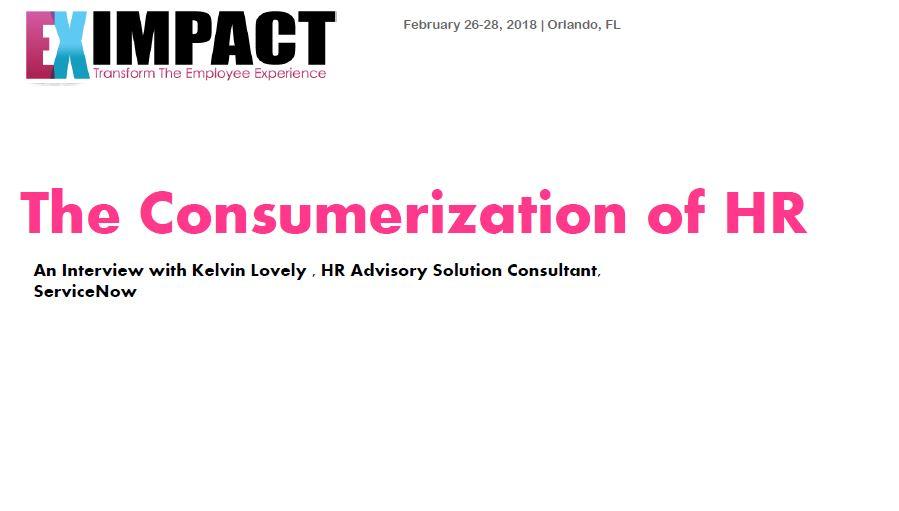 The Consumerization of HR