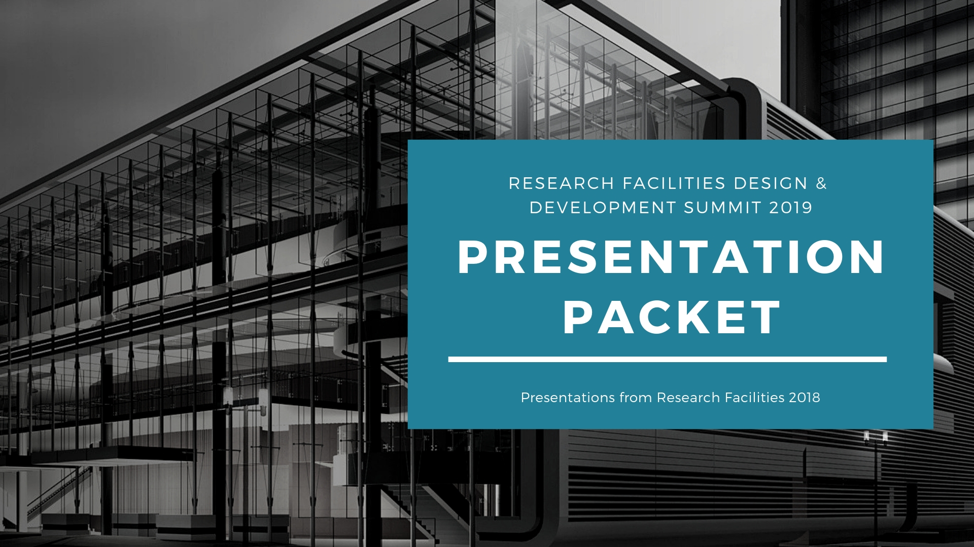 Research Facilities Design & Development Presentation Packet