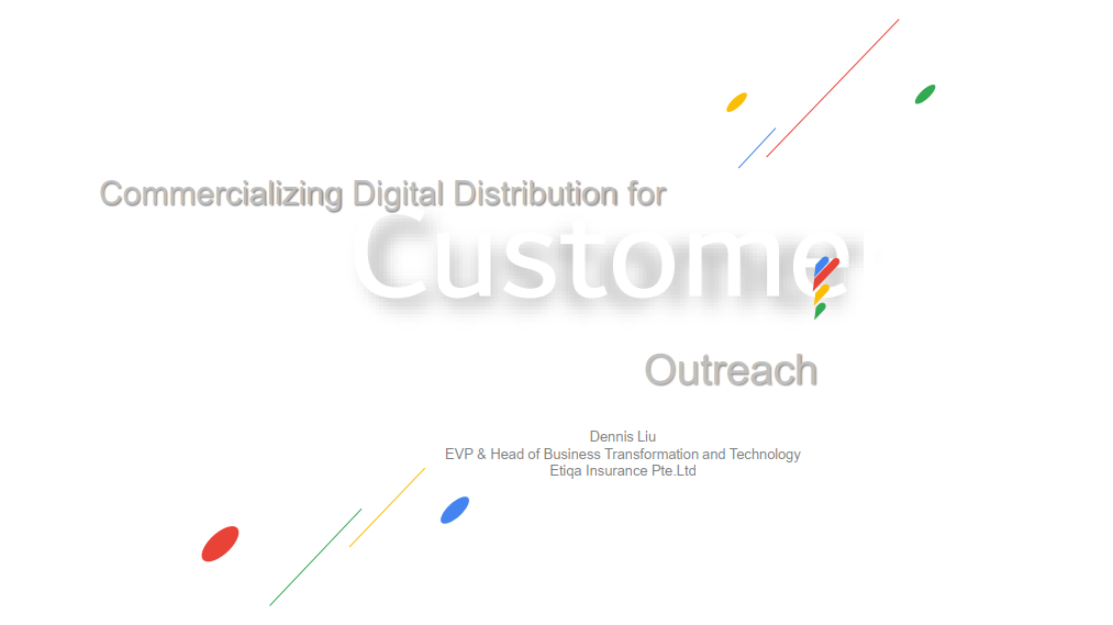 [Past Speaker Presentation] Commercializing Digital Distribution for Customer Outreach