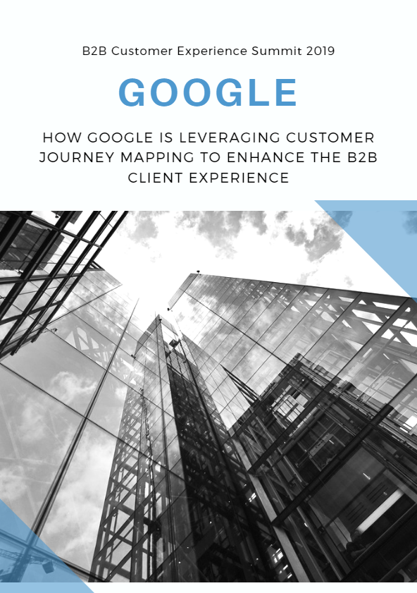 HOW GOOGLE IS LEVERAGING CUSTOMER JOURNEY MAPPING TO ENHANCE THE B2B CLIENT EXPERIENCE