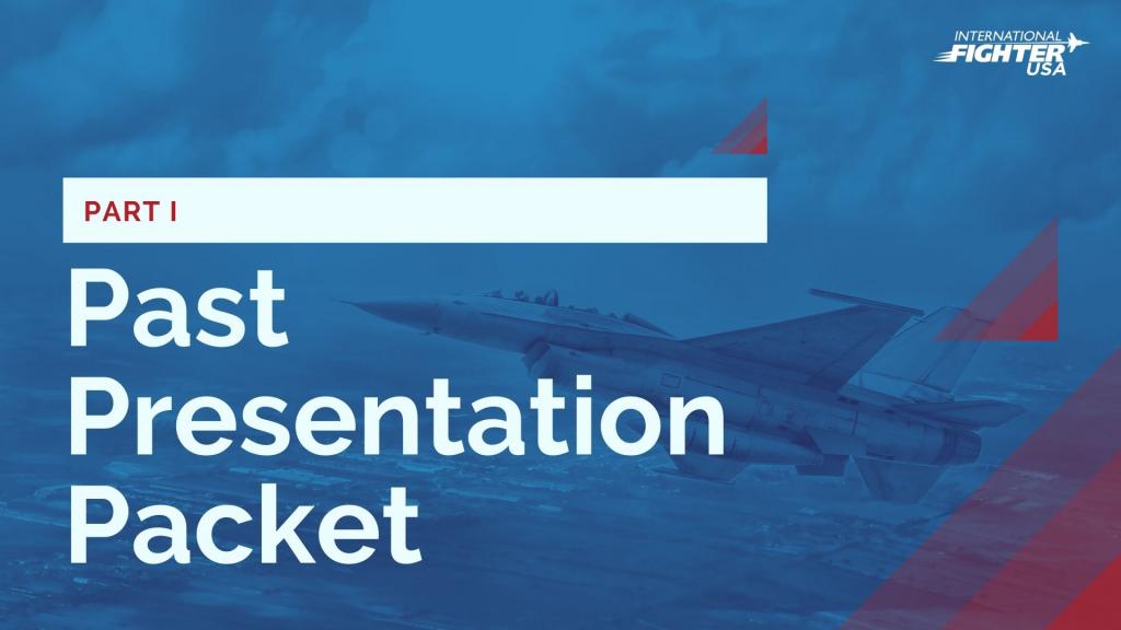 International Fighter USA Past Presentation Packet #1