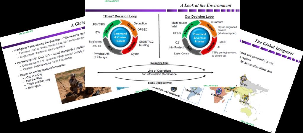 Defense Intelligence Innovation & the IT Enterprise - Lieutenant General Bradford Shwedo