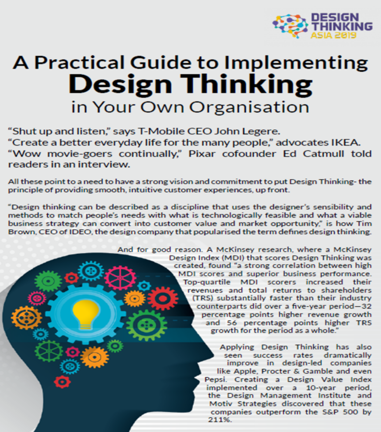A Practical Guide to Implementing Design Thinking in Your Own Organisation