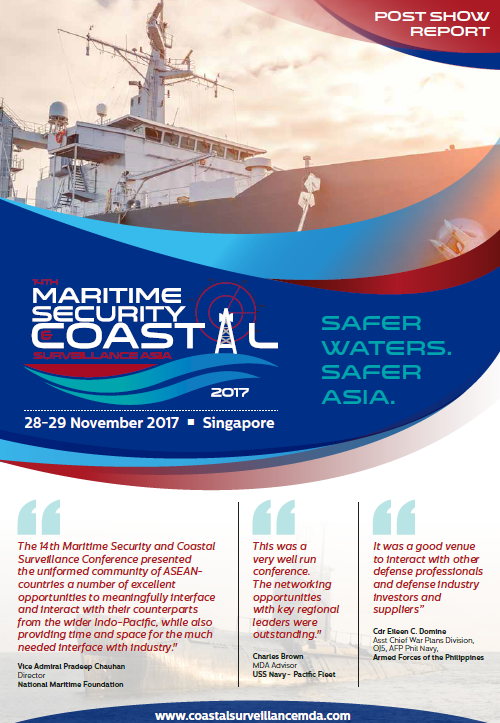 Maritime Security and Coastal Surveillance 2017 Post Show Report