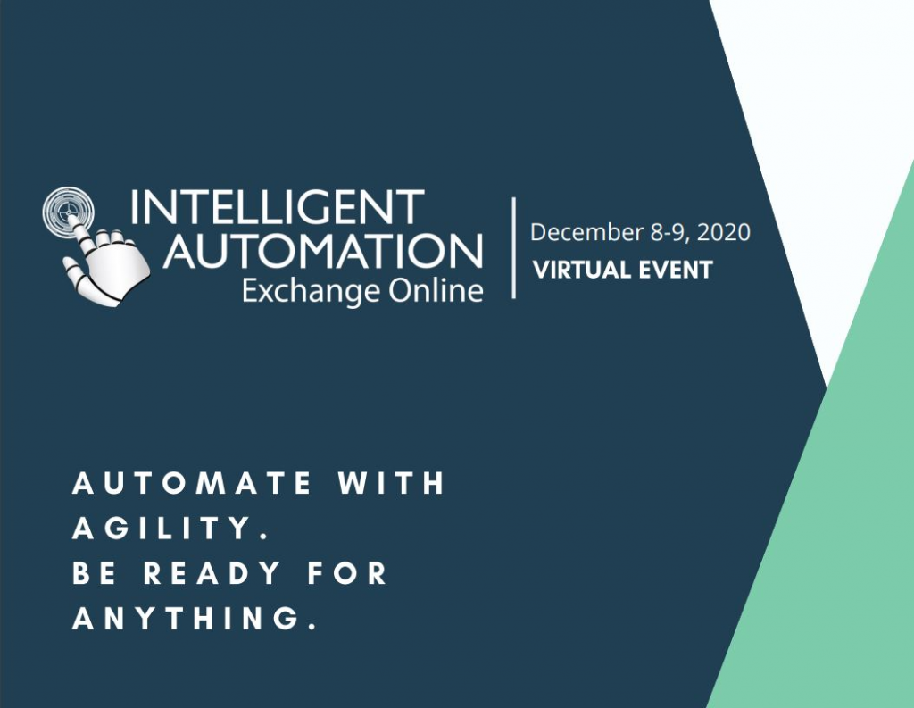 View Your Virtual Event Guide - Intelligent Automation Exchange