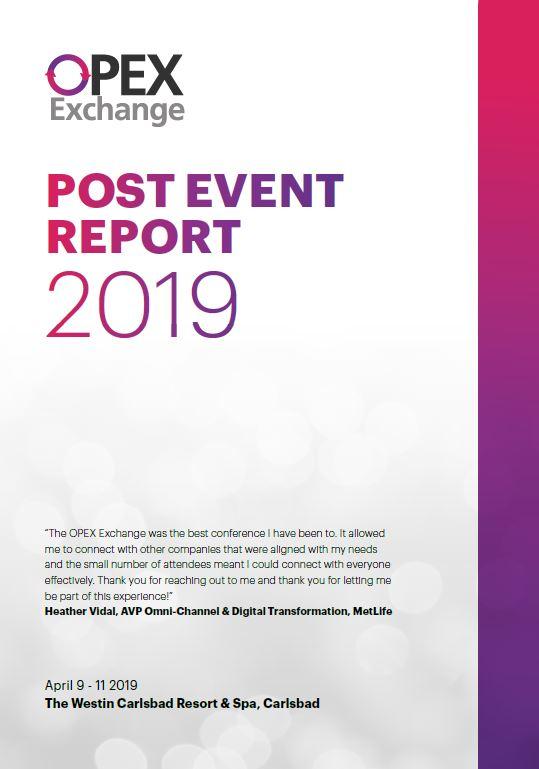 Post Event Report 2019