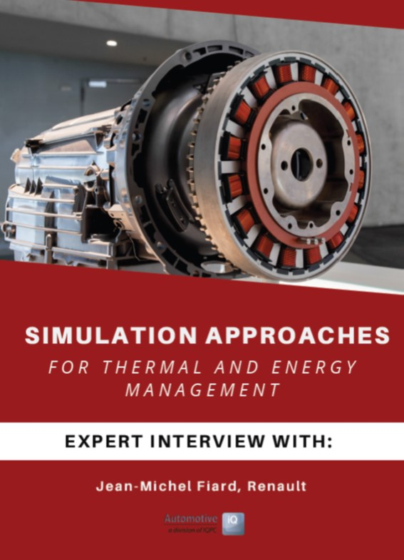 Renault Expert Interview on Simulation Approaches for Thermal and Energy Management