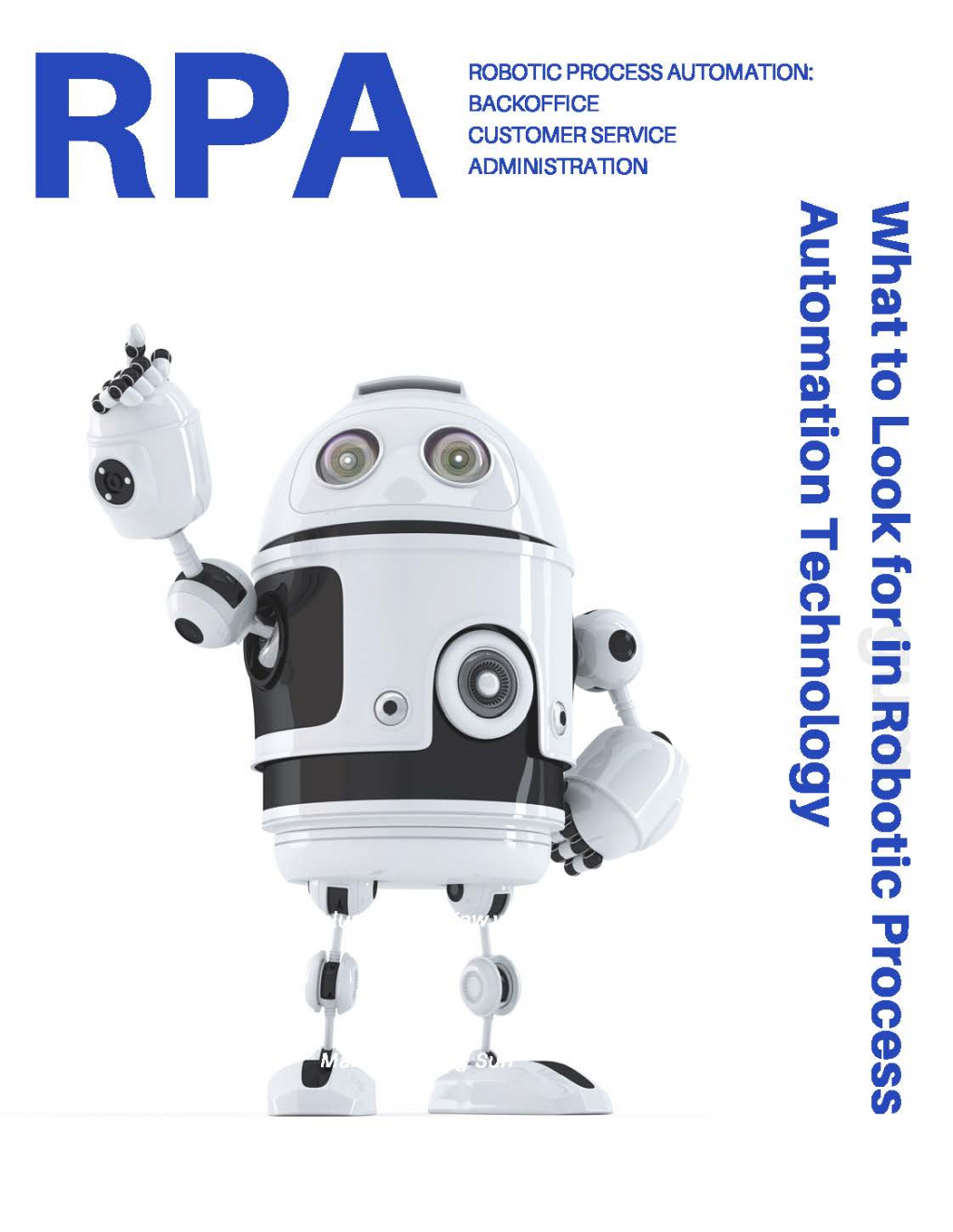 What to look for in Robotic Process Automation Technology SPEX