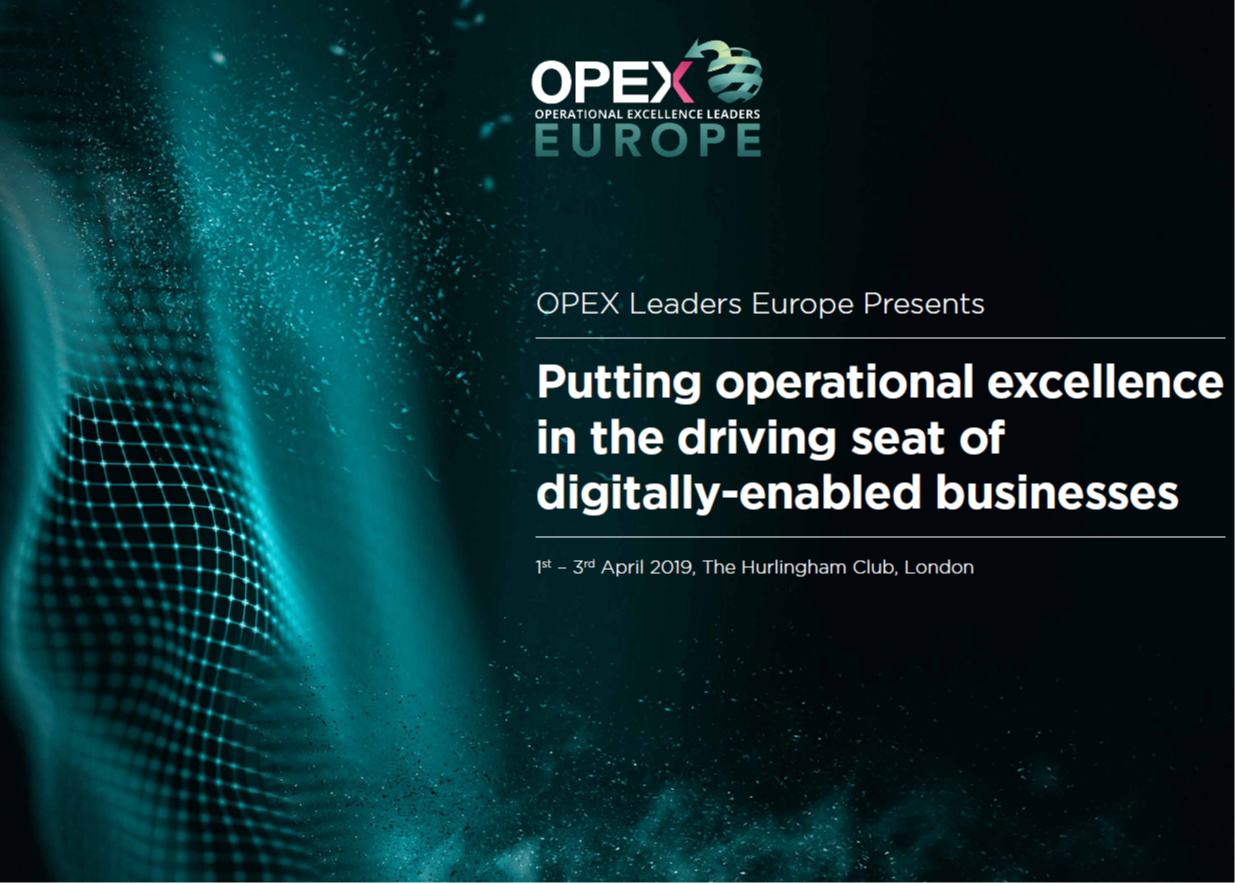 OPEX Leaders Europe - spex - Event Guide