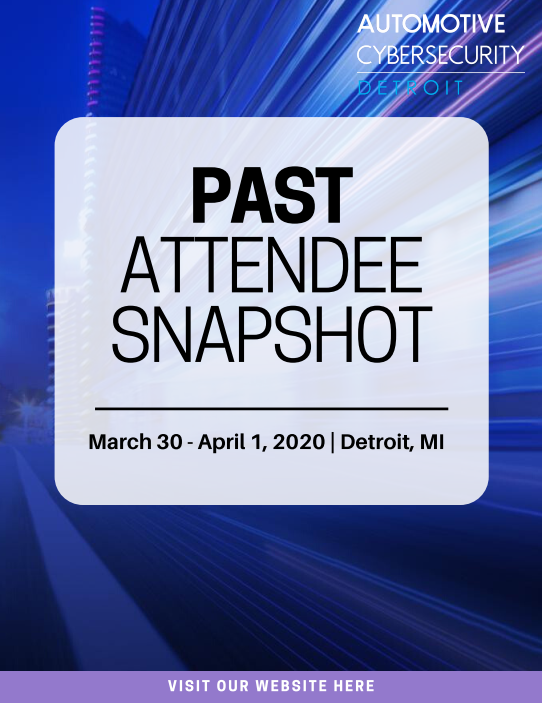 Automotive Cybersecurity Detroit 2020 Past Attendee List