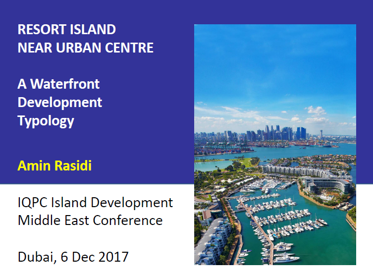 Resort Island Near Urban Centre