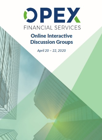 OPEX in Financial Services | Virtual Interactive Discussion Groups