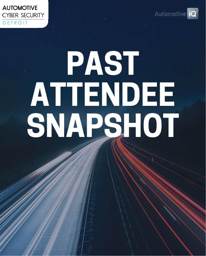 Auto Cyber Past Attendee Snapshot