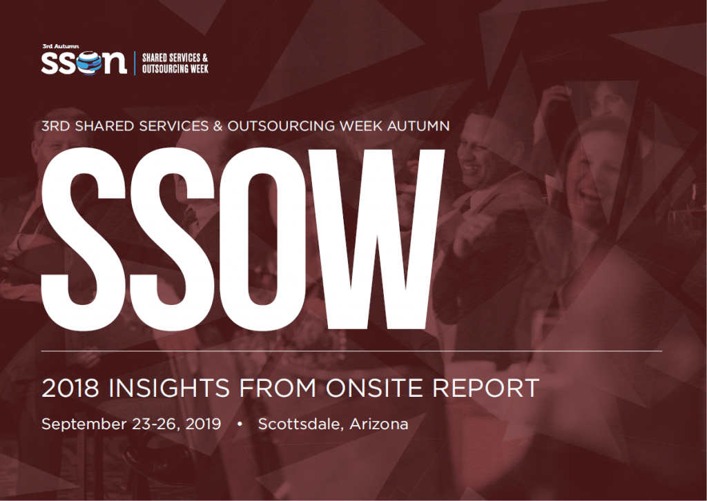 Shared Services & Outsourcing Week Autumn: 2018 Insights from Onsite