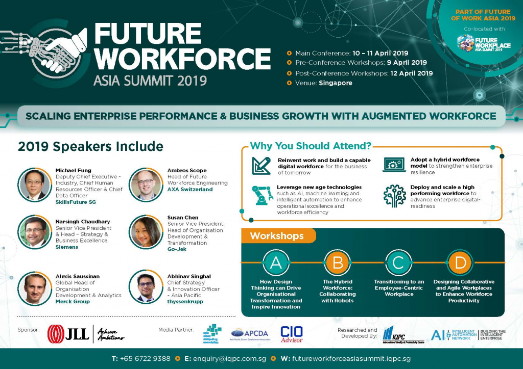 View the Future Workforce Asia Summit 2019 brochure
