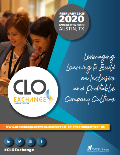 View the 2020 CLO Exchange Agenda