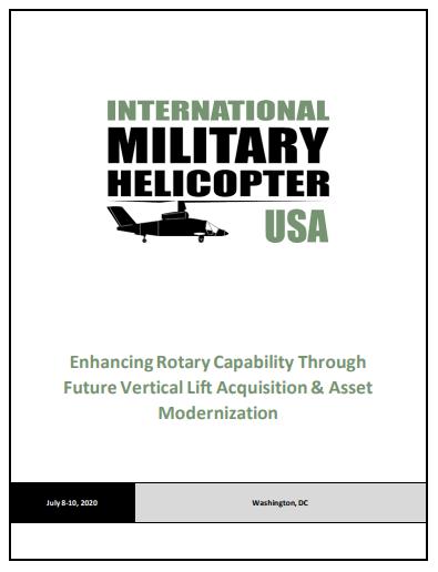 International Military Helicopter USA Preliminary Agenda