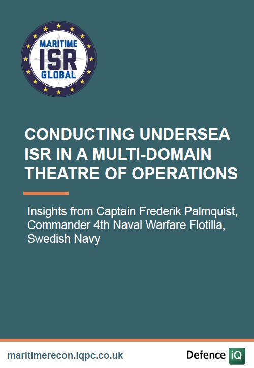 Conducting undersea ISR in a multi-domain theatre of operations
