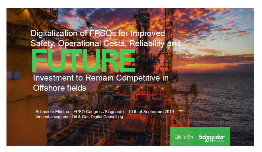 Digitisation of FPSO: An Essential Mean of Reducing Operational Costs in Offshore Fields