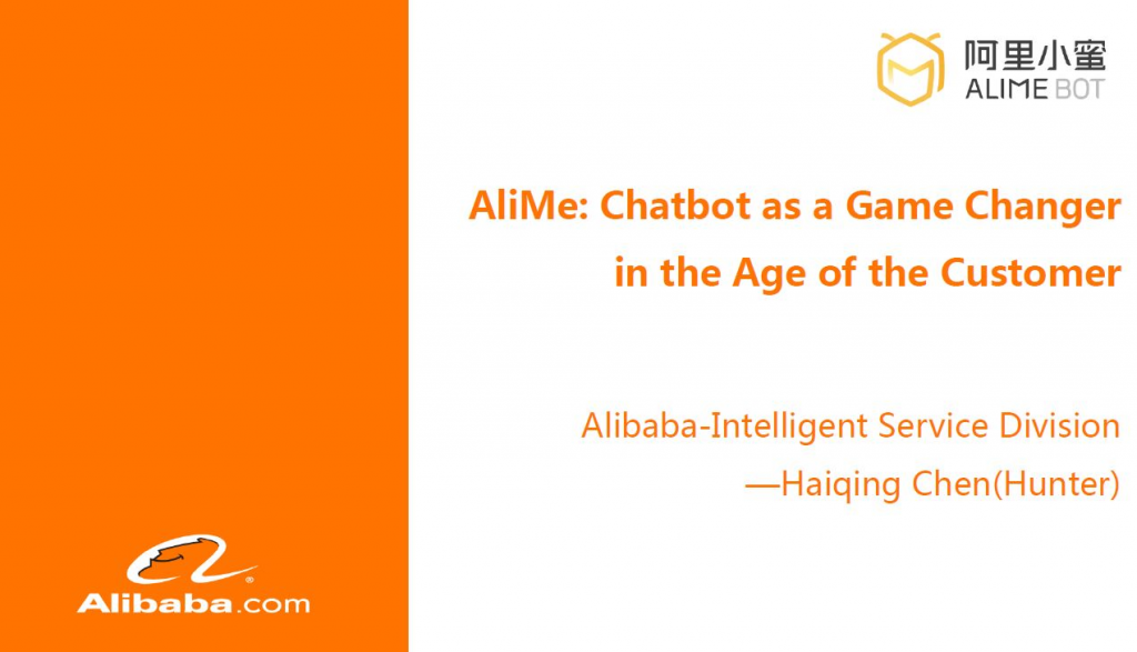 Download AliMe: Chatbot as a Game Changer in the Age of the Customer