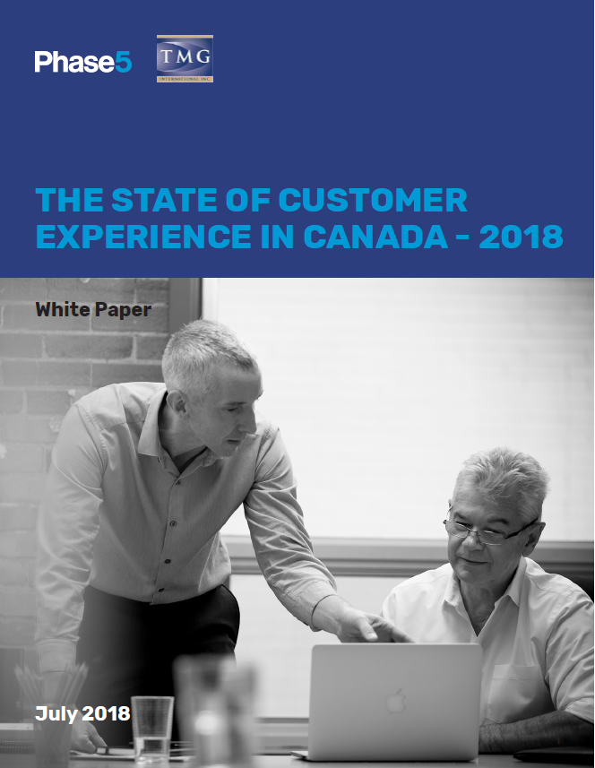 The State of Customer Experience in Canada - 2018