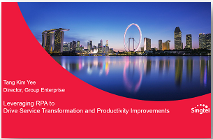 Leveraging RPA to Drive Service Delivery Transformation & Productivity Improvements