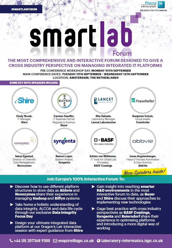 The SmartLab Forum - Download the Programme