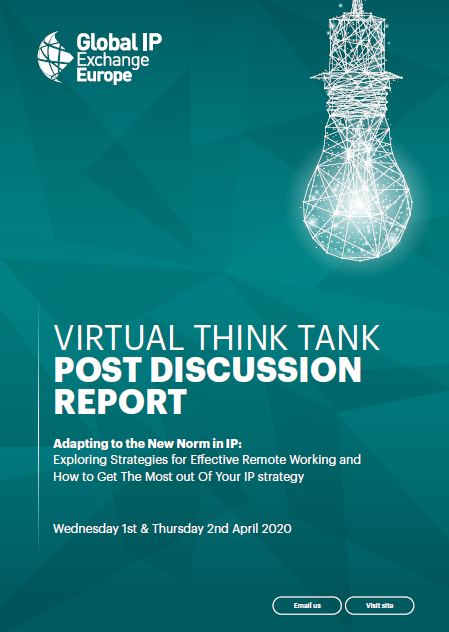 Virtual Think Tank Post Discussion Report : April 2020