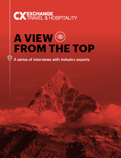 CX Travel & Hospitality Exchange - A View From The Top