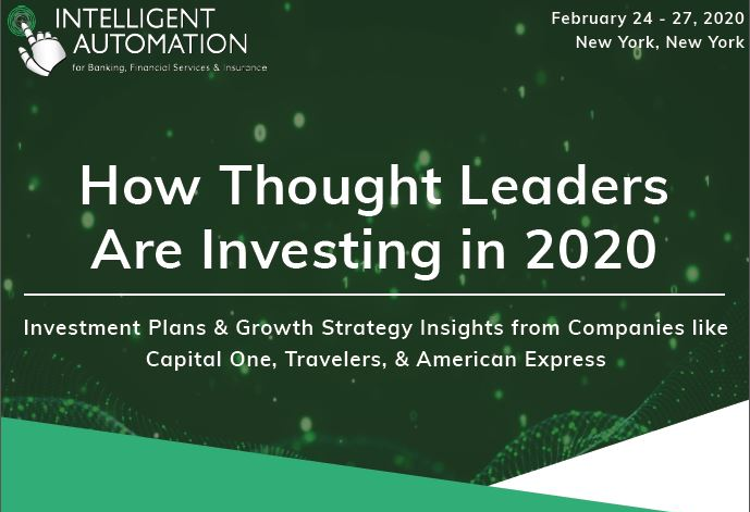 Infographic: How Thought Leaders Are Investing in 2020