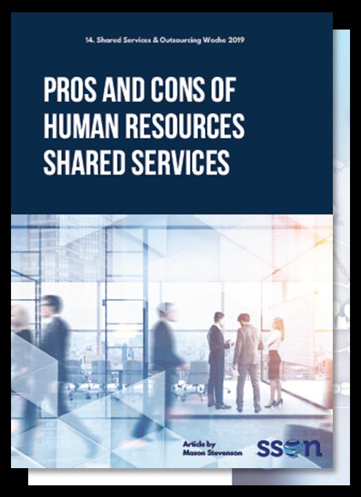 Was sind die Vor – und Nachteile von Shared Service Center für Human Resources?
