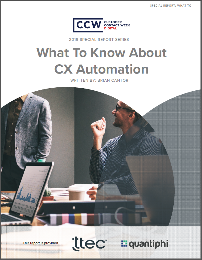 Special Report:What To Know About CX Automation