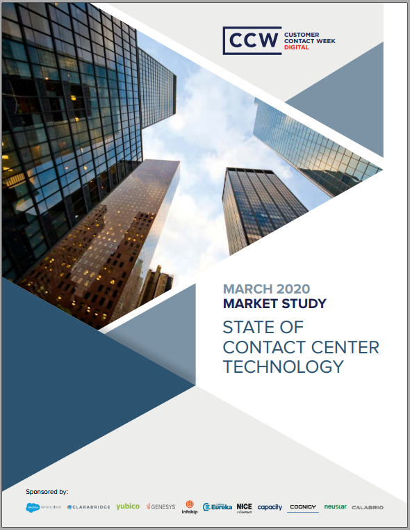 Market Study: State of Contact Center Technology