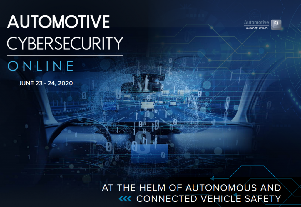 Automotive Cybersecurity Online 2020 Agenda