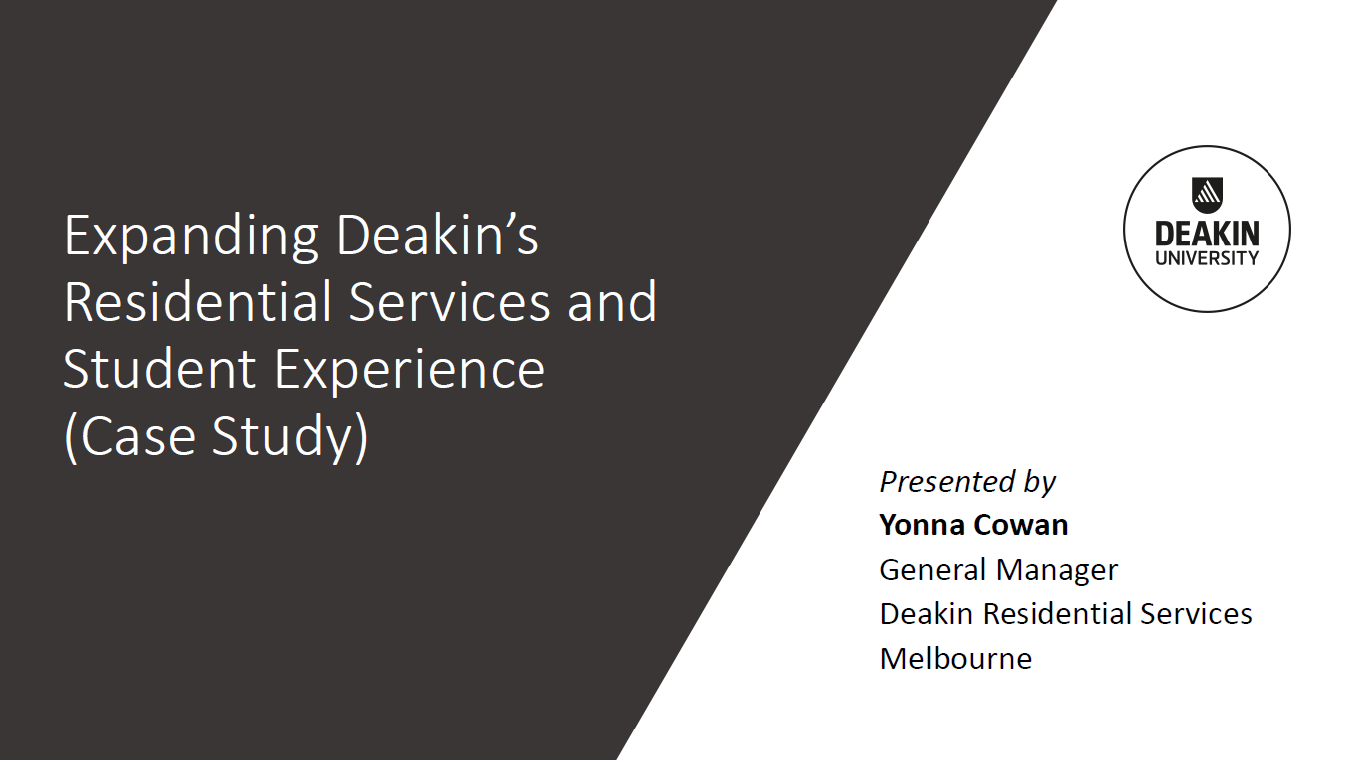 Expanding Deakin's Residential Services and Student Experience